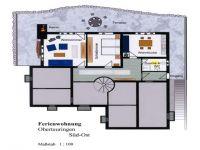 Ferienwohnungsaufteilung und Terrassenplatz - Bild 4: Ferienwohnung Haus Speck, nähe Bodensee