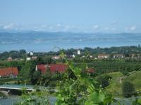 Blick auf Kressbronn, Bodensee und schweiz. Uferseite - Bild 7: Argenpark - 3 Zi-Maisonette-Fewo in Kressbronn am Bodensee